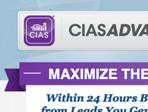 CIAS Advanced Web Interface and Sales Page